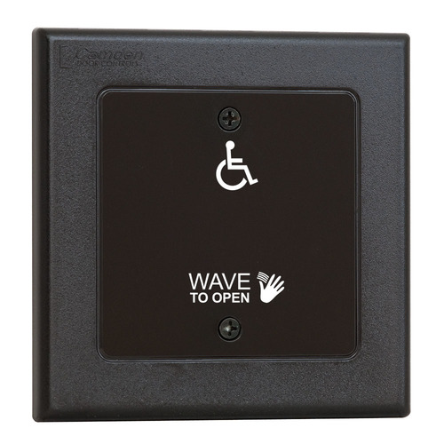 Touchless Swtch W/Hand Icon, Wave To Open & Whlchr