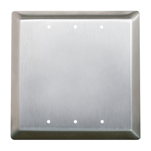 """4"""" Sqall Active Push Plate W/Boot&Water Tight Coat"""