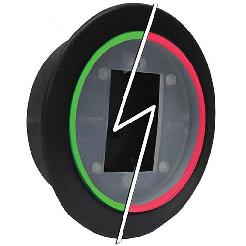 "Flush, 4 1/2"" Round, Green/Red, C/W Sounder, Mount"