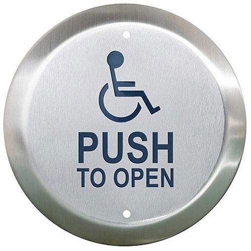 6 Rnd S/S Btn Whlcr/Push Open