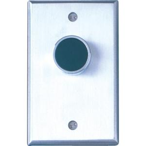 Single Faceplate Grn Exit