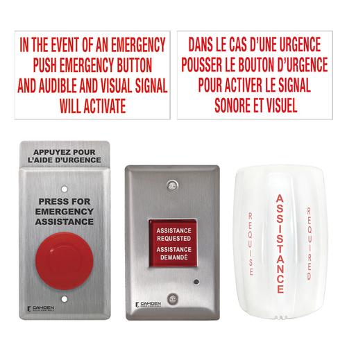 Bilingual Universal Emergency Call Kit
