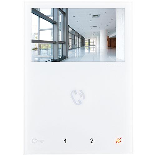Comelit Hands-Free Mini Monitor. White. Sbtop System