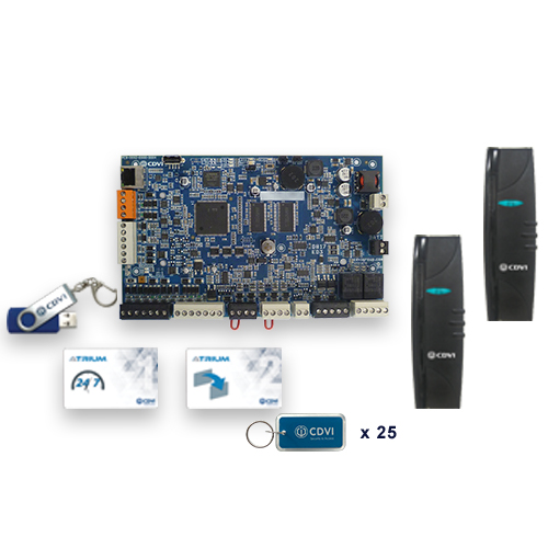 CDVI A22K1NB Krypto 2-Door / 4-Reader IP Controller - No Box