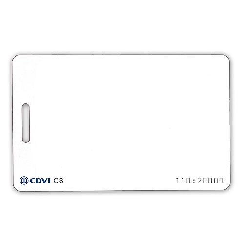 CDVI CS25 Proximity Cards Standard Clamshell 25 Pack
