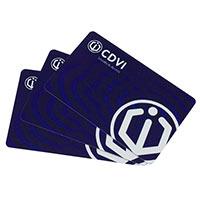 CDVI CTU48 U4GO UHF ISO RFID Card, 10-Pack