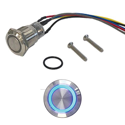 CDVI PBL Illuminated Push Button Latch