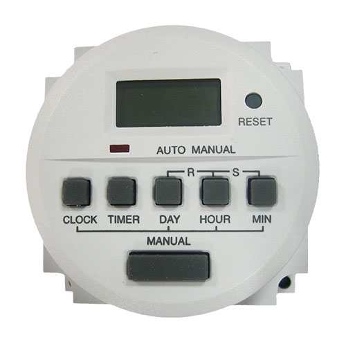 CDVI TH827/24V Digital 7-Day Timer Digital