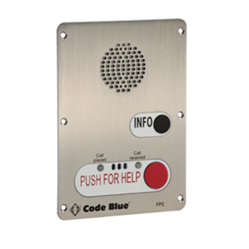 Ia4100 2 Button Push For Help Bezel