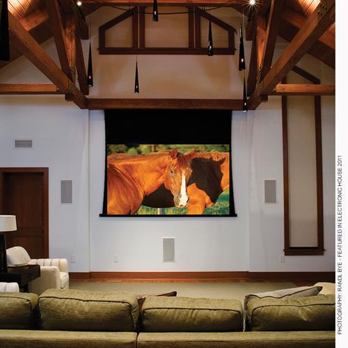 "Draper Access V 189"" Electric Projection Screen"