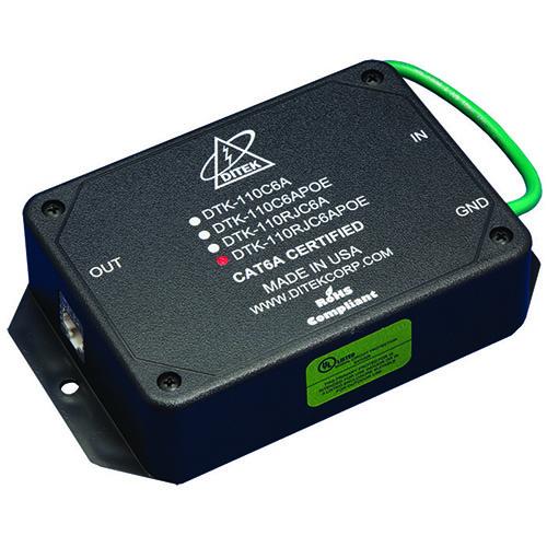 DITEK 10 Gigabit Ethernet Surge Protection