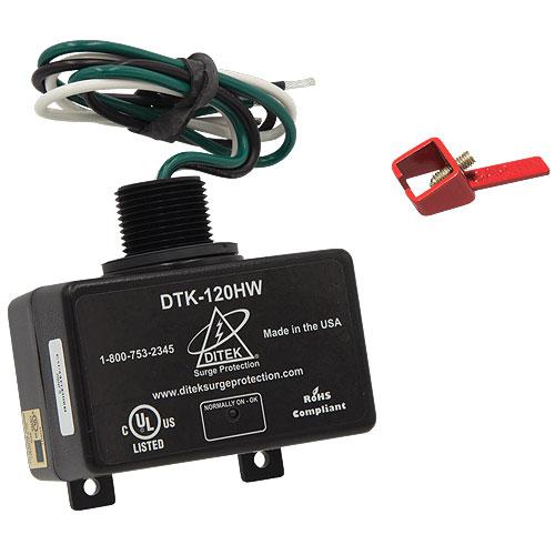 DITEK DTK-120HWLOK Equipment Panel/Dedicated Circuit Surge Protective Device