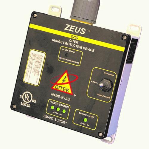DITEK ZEUS D200-347/6003Y Surge Suppressor/Protector