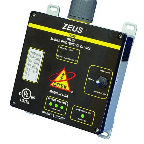 DITEK ZEUS D200-120/2083Y Surge Suppressor/Protector