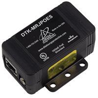 DITEK DTK-MRJPOES Shielded Gigabit Power Over Ethernet Surge Protection