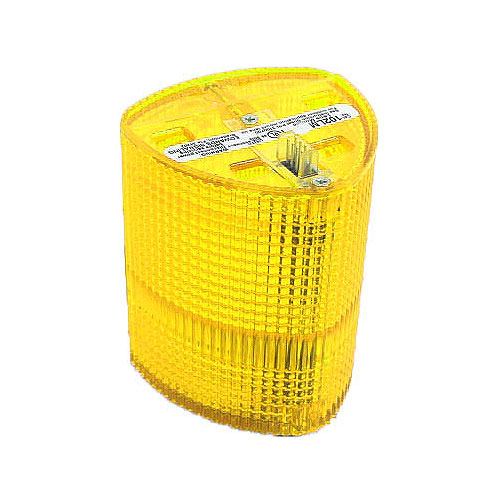 Edwards Signaling 102LM-Y 102 Series StackLight  Lens Module, Yellow