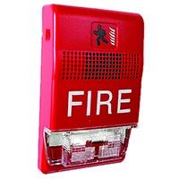 STROBE MULTI CANDELLA RED WITH FIRE WORDING
