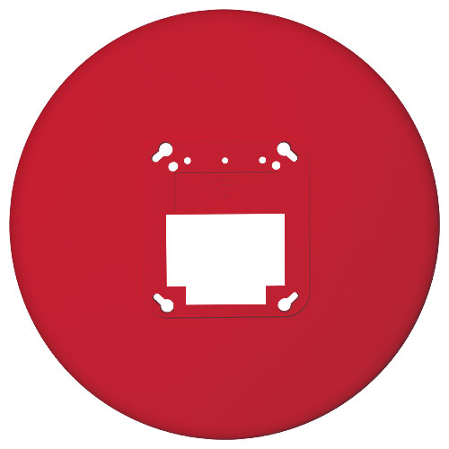 TRIM PLATE,CLG,RED