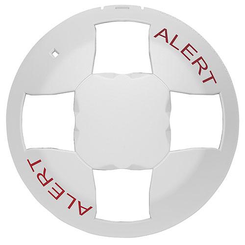 Kidde EGCVWA-CVR Genesis Ceiling Cover, White, Alert Marking, Visual
