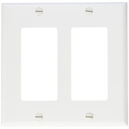 DOUBLE GANG ANNUNCIATOR TRIM PLATE