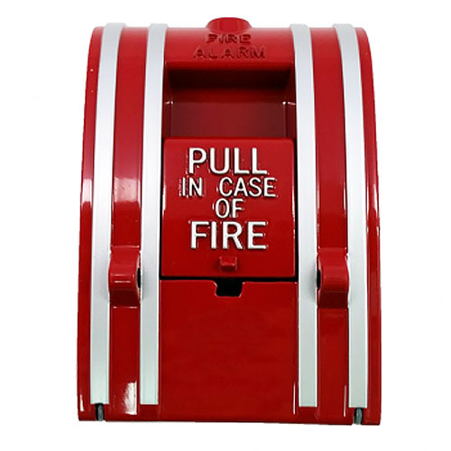 GE Two Stage (Presignal) Fire Alarm Station, English Markings - UL/ULC Listed