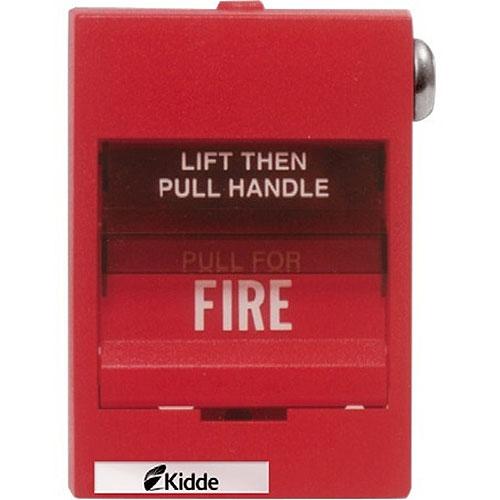 Kidde K-279B-1120 Double Action Pull Station, Double Pole, Open Circuit, Key Reset