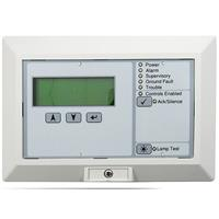 kidde LCD Text Annunciator with Common Controls. English.