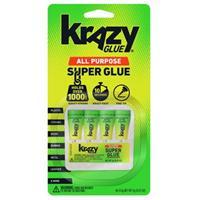 Krazy Glue KG58248SN All Purpose Super Glue 0.5g - 4 Pack