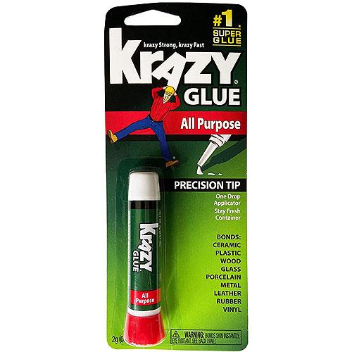Krazy Glue KG58548R Instant Krazy Glue All Purpose Tube 0.07-Ounce