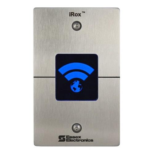 Essex Electronics IRX-2S iRox High Frequency iCLASS SE Reader, Single Gang, Stainless Faceplate