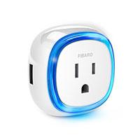 FIBARO WALL PLUG US WITH USB
