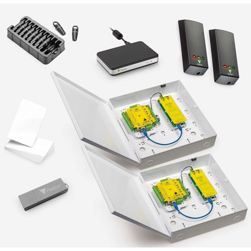 Paxton Access Net2 Plus Starter Kit for 2 Doors, PoE+ PSU