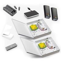 Paxton Access Net2 IP Starter Kit for 2 Doors, Low Voltage PSU