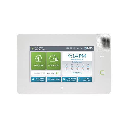 2GIG eSeries GC3E Burglar Alarm Control Panel