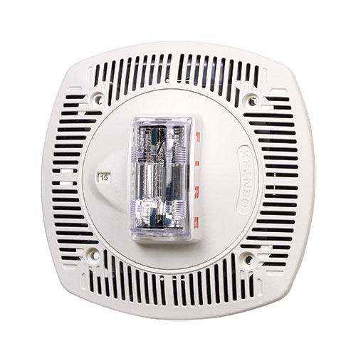 Gentex SSPK24CLPW Multi-candela Ceilingmount Speaker Strobe