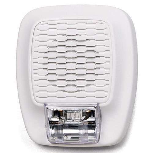 Gentex GHSLF177W Low Frequency Audible and Visible 24 VDC Horn Fixed Strobe 177 Candela, White