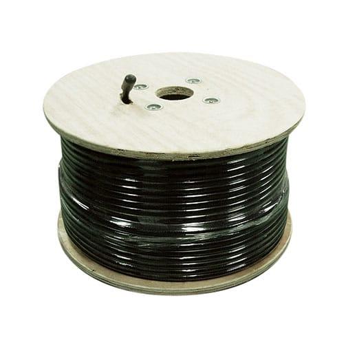 500' Sc-600 Coax Cable W/O Connectors, Black