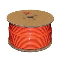 500' Sc-400 Plenum Coax Cable Spool, Orange