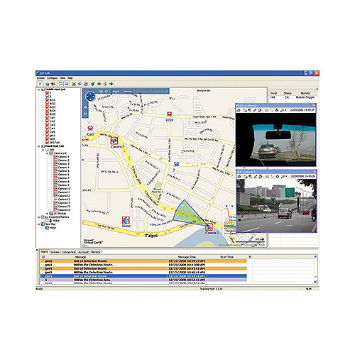 GeoVision GV-GIS Geographic Information System Central Management System, 3 Mobile Connections