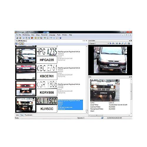 GeoVision GV-LPR 4 Lane License Plate Recognition Software