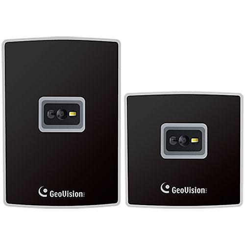 GeoVision GV-QR1352 13.56MHz QR Code DESFire Reader, Black