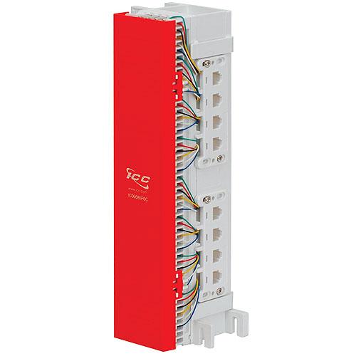 ICC 66 Wiring Block, 12-Jacks, 8P8C