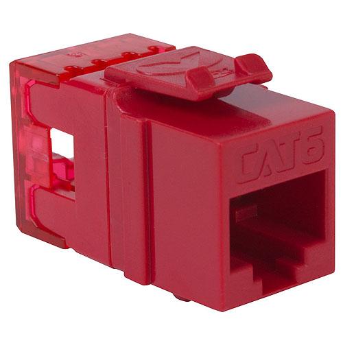 ICC IC1078F6RD Modular Cnntr CAT6 Hgh Den Red