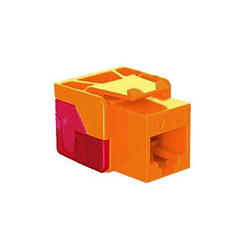 ICC Cat 6, EZ Modular Connector, Orange