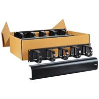 ICCMSCMAV2 Panel, Cable Mgmt Interbay, 2 Rms, 6 Pk