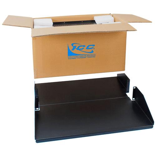 "ICC ICCMSRDSC3 Rack Shelf, 20"" Deep Dbl Solid 2rms, 2pk"