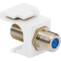 ICC IC107BFDWH Module, F-TYPE Nickel Plated 3ghz, 25-Pack