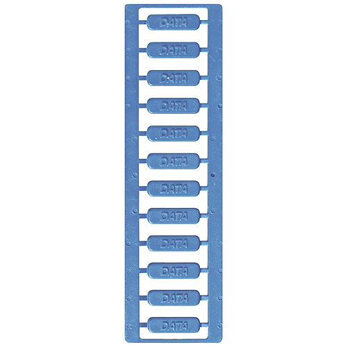 ICC ICMPPICSWH Patch Panel Icon, Data, White, 120 Pack