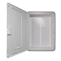 20IN PLASTIC ENCLOSURE NA WITH HINGED DOOR & TRIM