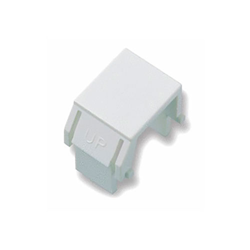 Legrand-On-Q Blank Keystone Inserts, White (10 Pack)
